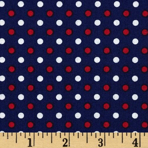 Fan-Tastic Dot Blue/Red
