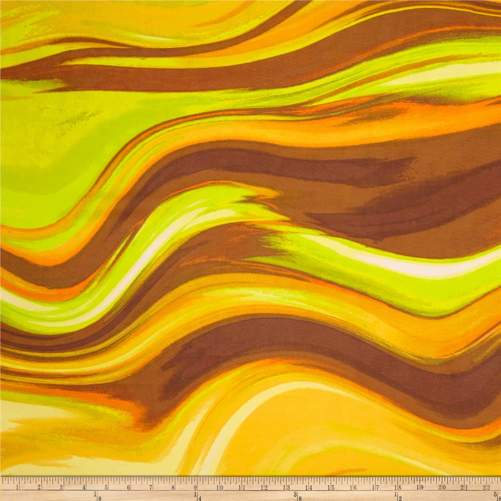 Vivid Chiffon Brown/Citrus