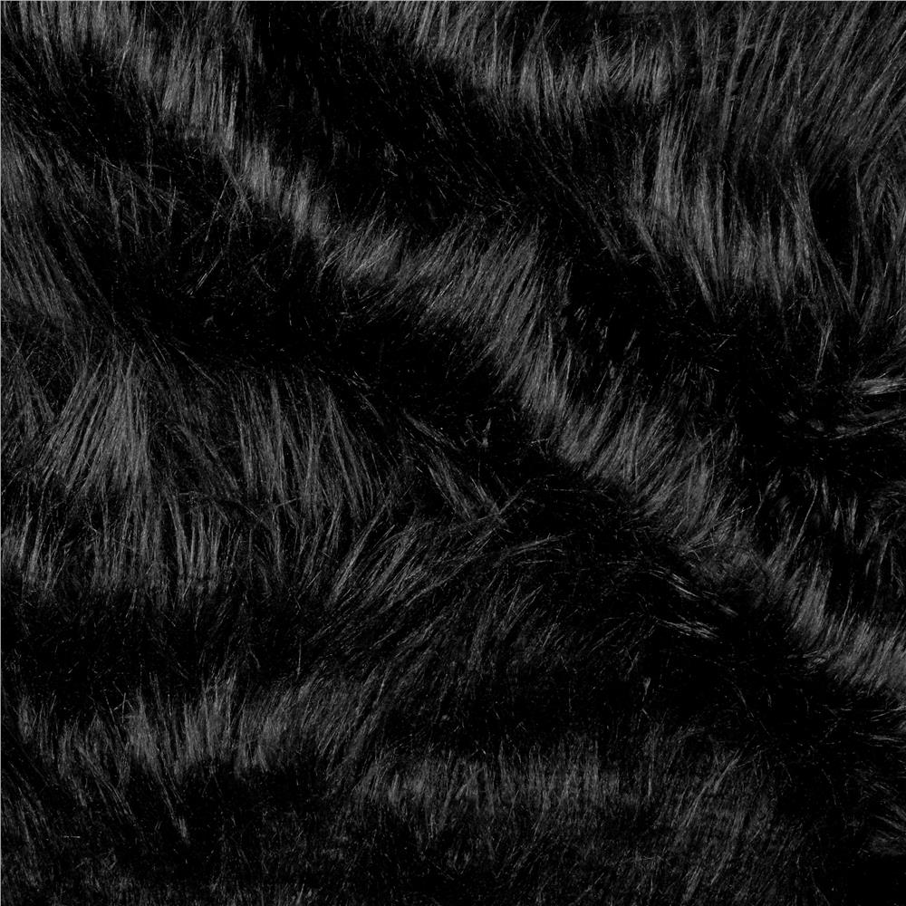 Faux Fur Gorilla Black