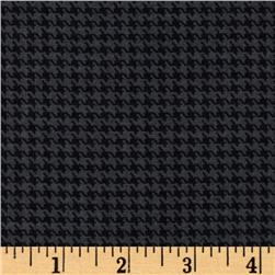 Designer Essentials Designer Houndstooth Dark Grey