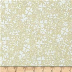 Irish Charm Metallic Packed Shamrock White/Gold