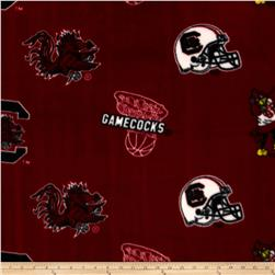 Collegiate Fleece University of South Carolina Garnet