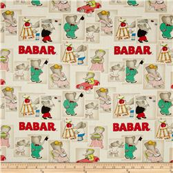 Babar Stamps Cream