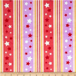 Minky Stripes and Stars