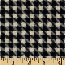 Mountain Lodge Flannel Buffalo Plaid Black/Beige