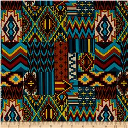 Mesa Verde Aztec Teal/Brown
