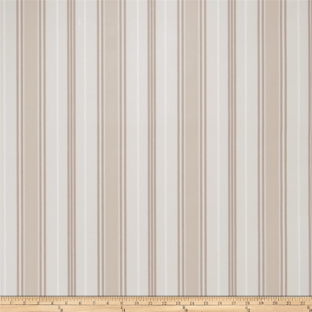 Fabricut Remi Stripe Wallpaper Bisque (Double Roll)