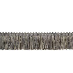 "Trend 2"" 03215 Brush Fringe Pewter"