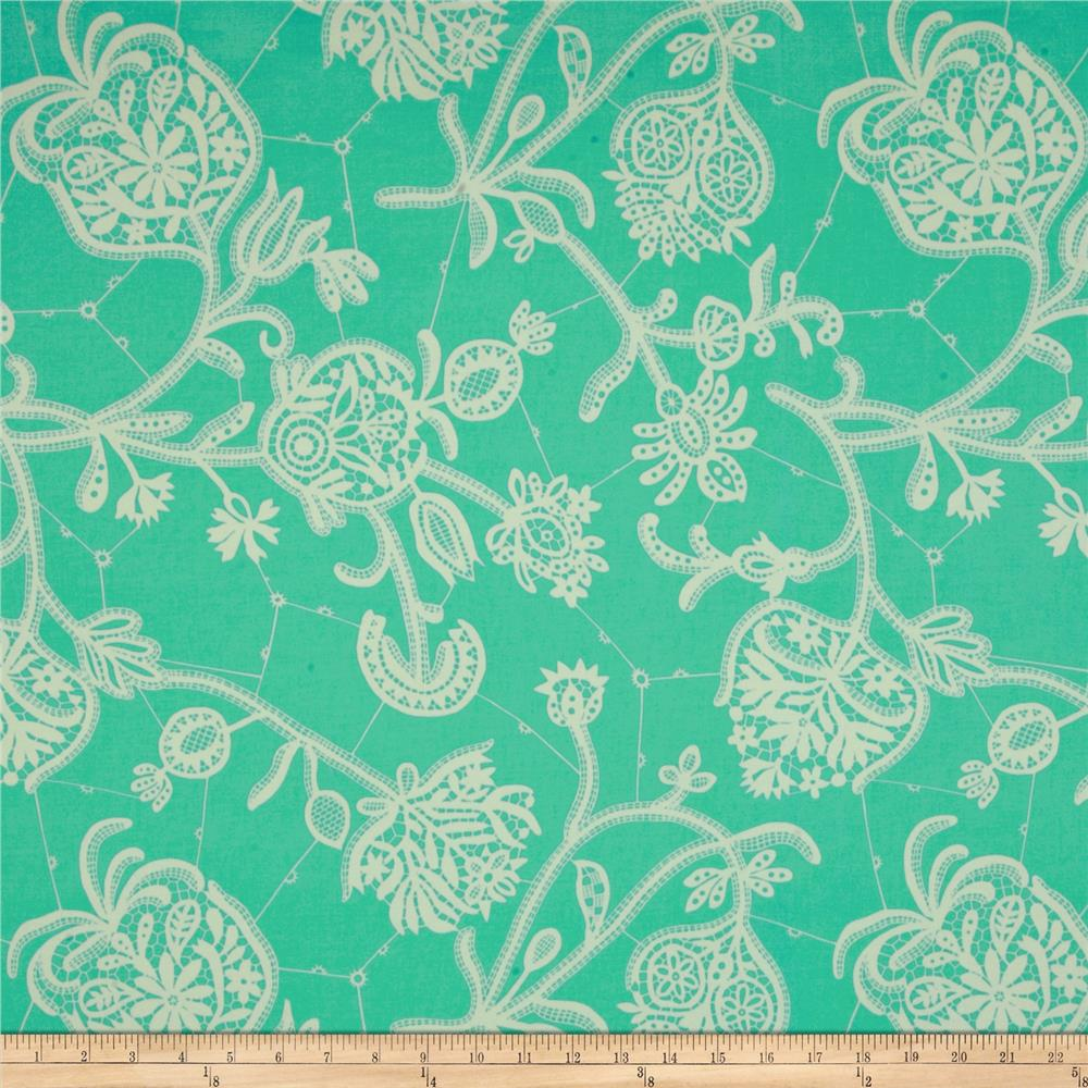 Amy Butler Lark Home Decor Sateen Souvenir Mineral