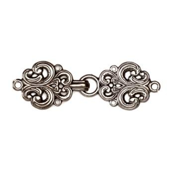 Buckles 2'' Antiquity Clasp Antique Silver