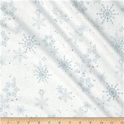 Creature Comforts Snowflakes White