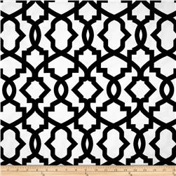 Premier Prints Sheffield Shadow Black Fabric