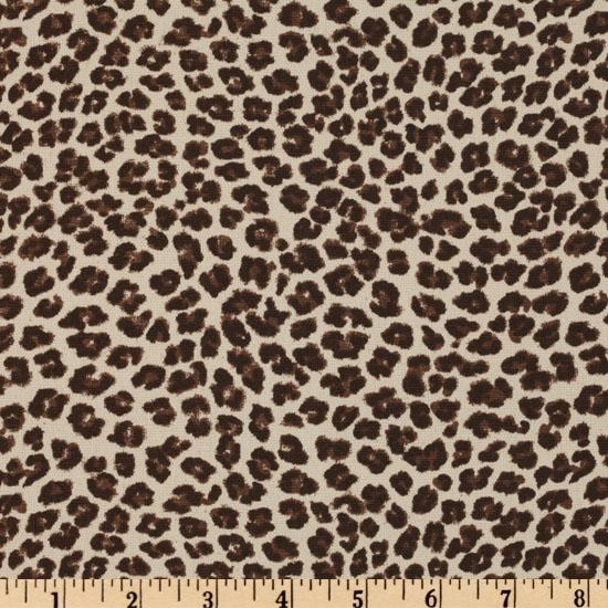 Premier Prints Leopard Brown/Natural