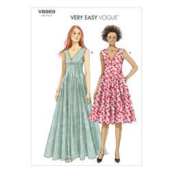 Vogue Misses' Dress Pattern V8969 Size B50