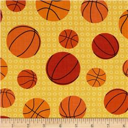 Sports Life Basketballs Yellow