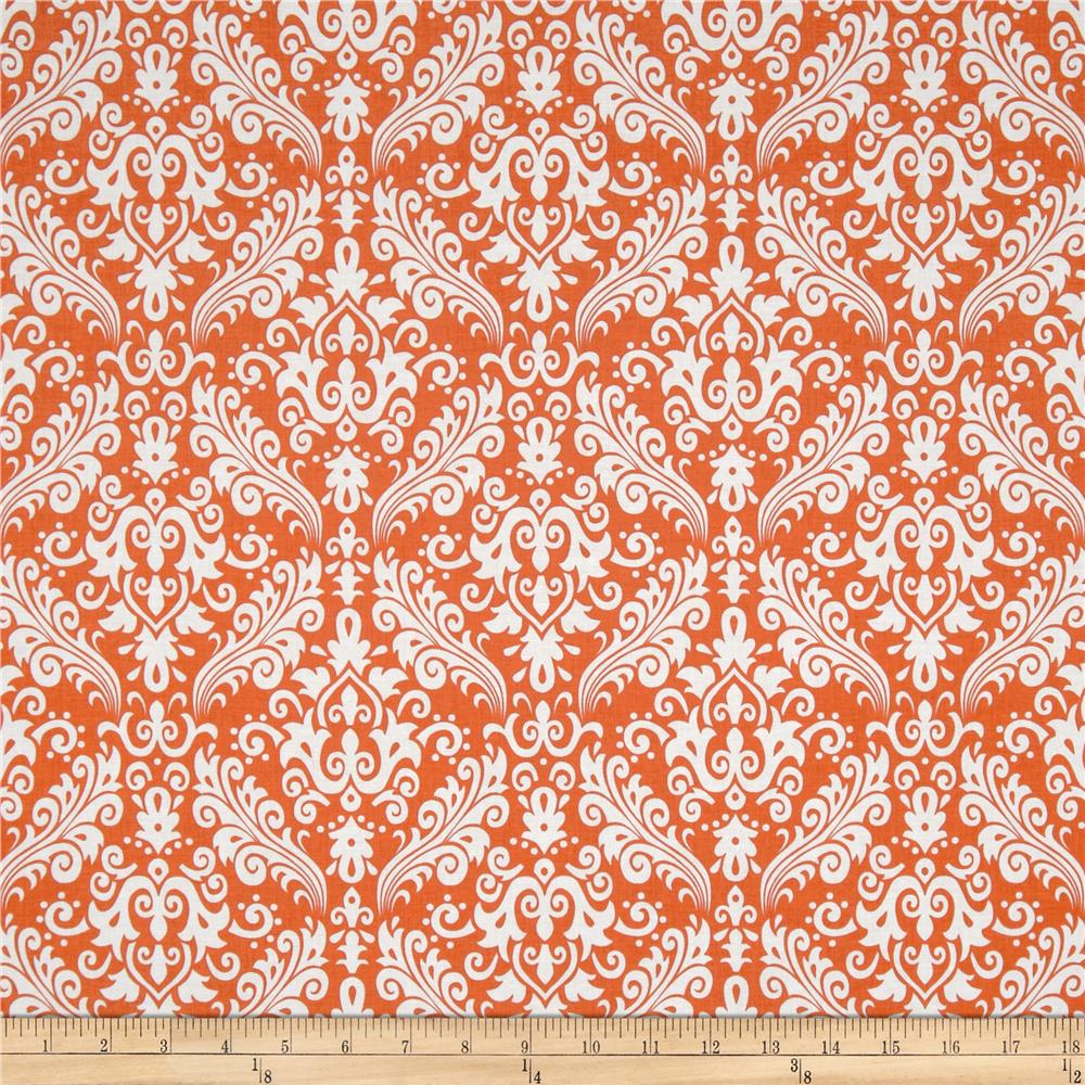 Riley Blake Medium Damask Orange