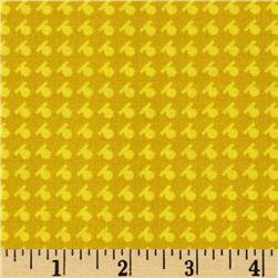 Denyse Schmidt Hadley Dash Dot Sunflower Fabric