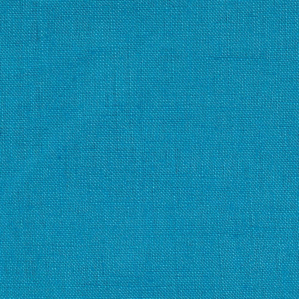 Stonewashed Linen Turquoise Fabric By The Yard
