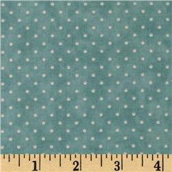 Moda Essential Dots (# 8654-13) Bluebell Fabric