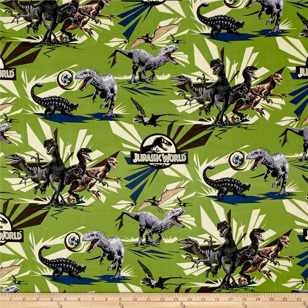 Universal Jurassic Park Jungle Rules Vector Dinos Green
