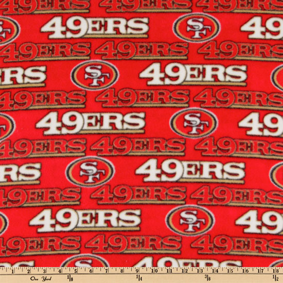 NFL Fleece San Francisco 49ERS Red