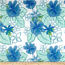 Bartow Indoor/Outdoor Lagoon Floral Blue/Green