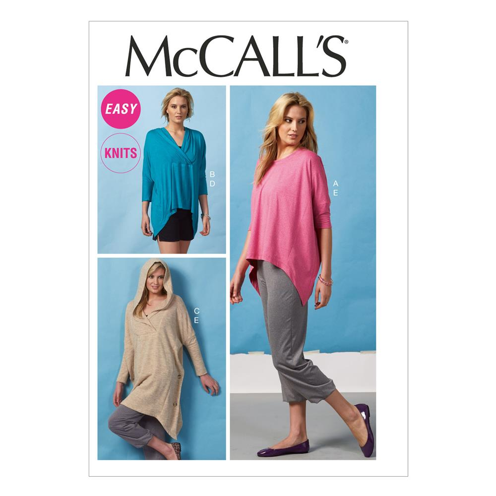 McCall's Misses' Tops, Tunic, Shorts and Pants Pattern
