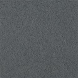 Wintry Fleece Dark Ash Grey