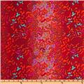 Kaffe Fassett Prints Collection BabaGanoush Magenta
