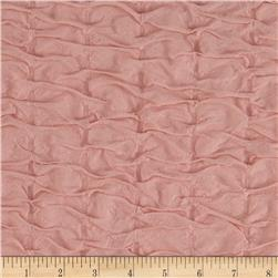 Stretch Tufted Ruffle Knit Peach