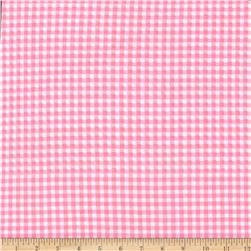 Michael Miller Tiny Gingham Pink
