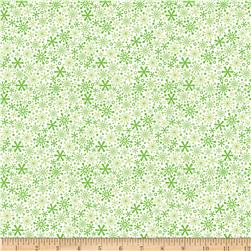 Riley Blake Home for the Holidays Flake Green