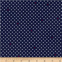 Cynthia Rowley Paintbox Pin Dot Navy