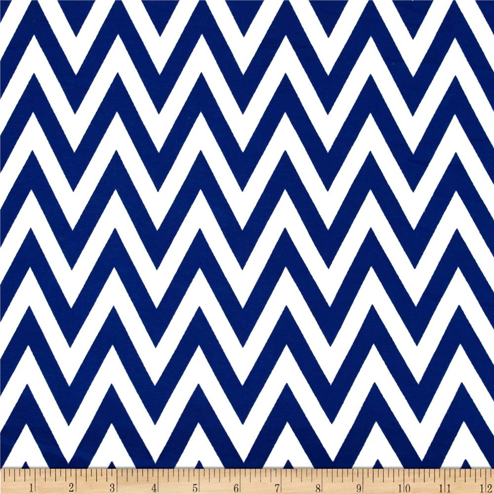 Ponte de Roma Chevron Royal/White