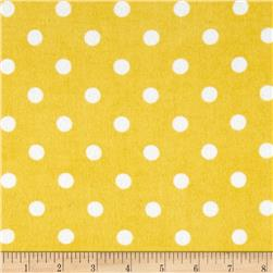 Comfy Flannel Dots Yellow