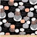 Potions & Spells  Metallic Pumpkins Black