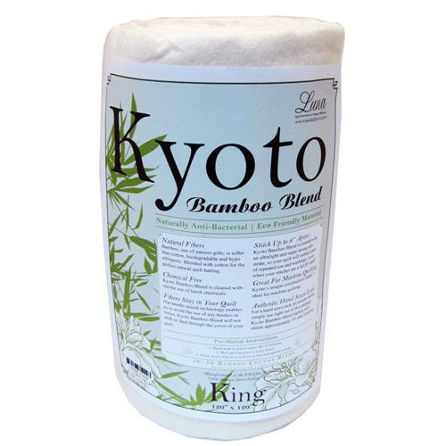 Kyoto Bamboo Blend Batting (120'' x 120'') King