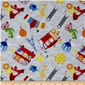 Big City Friends Vehicles & Landmarks Gray/Red