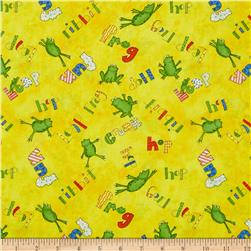 Hip Hop Friends Tossed Frogs Yellow/Multi