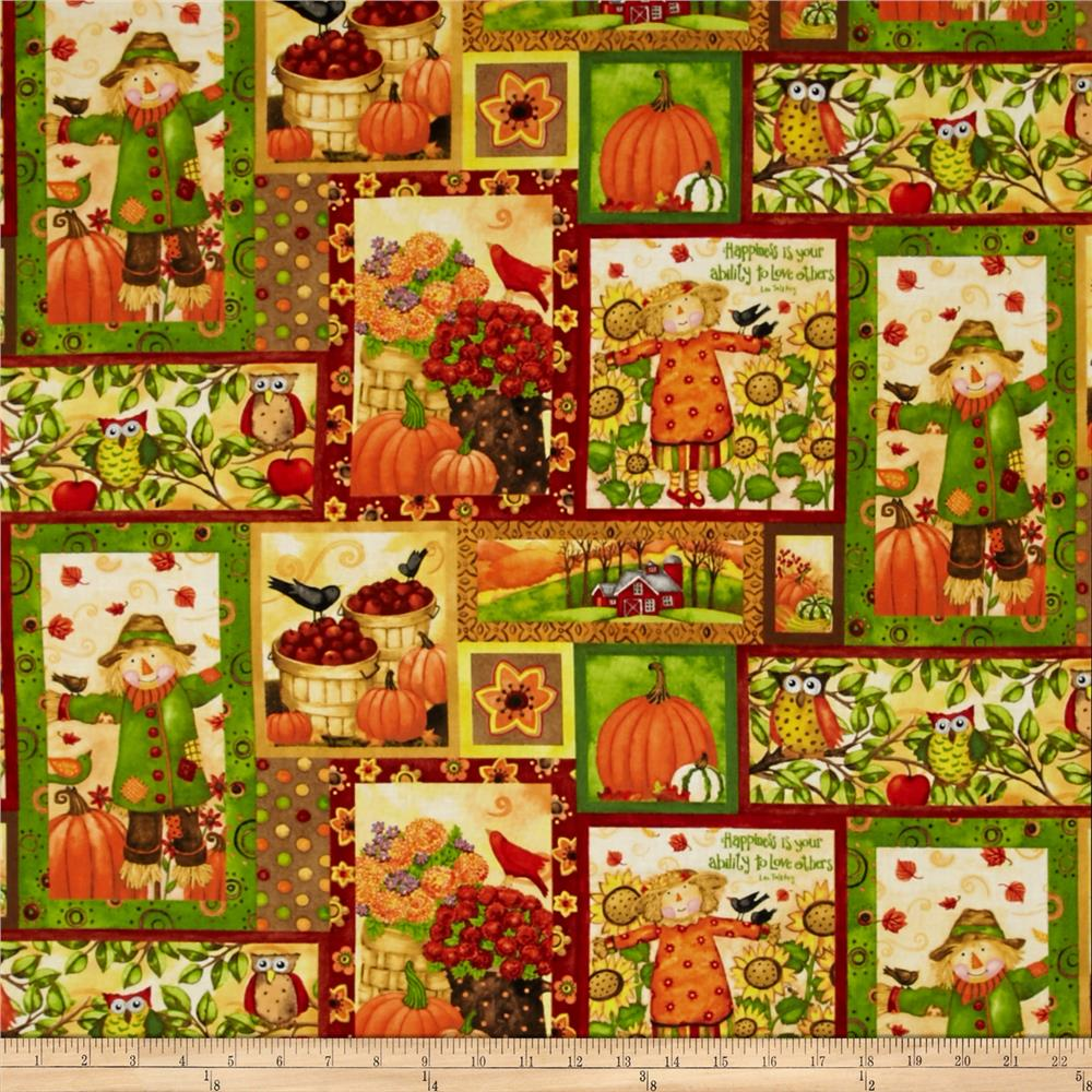 Grateful Harvest Harvest Patchwork Multi
