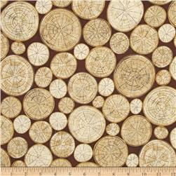 Meadow Rain Tree Logs Oak