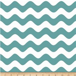Riley Blake Wave Teal
