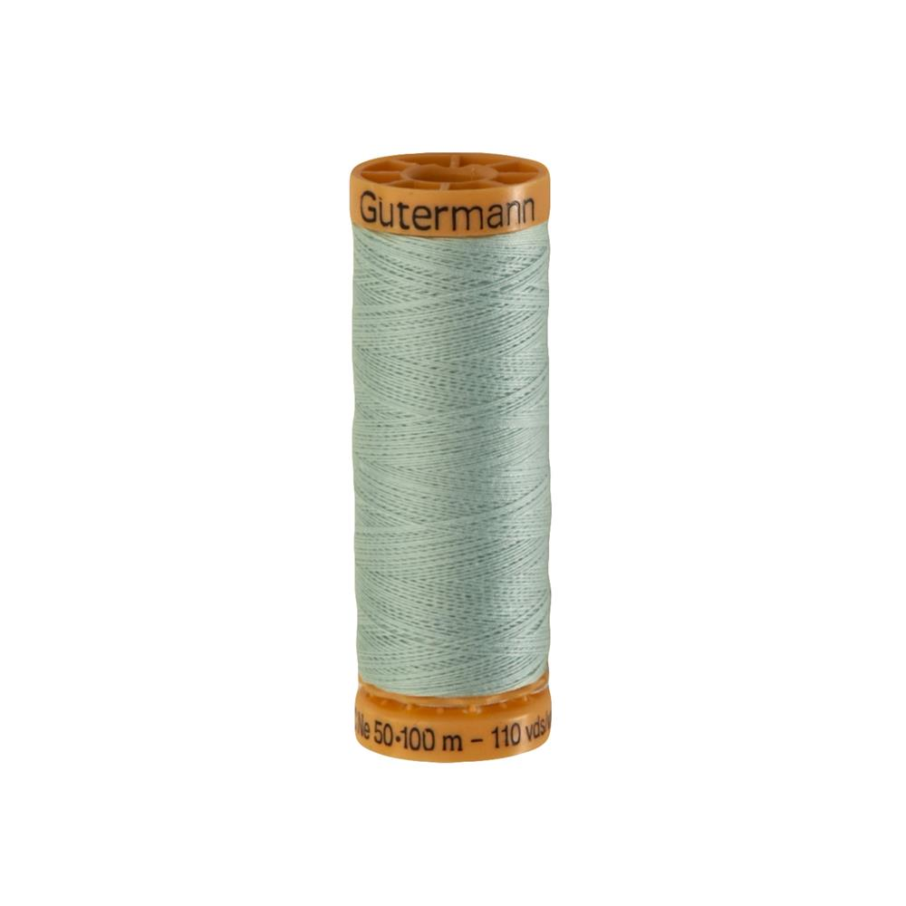 Gutermann Natural Cotton Thread 100m/109yds Pale Green