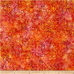 Anthology Batik Floral Pink/Yellow