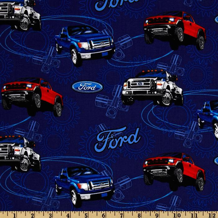 Ford F-150 Allover Dark Blue