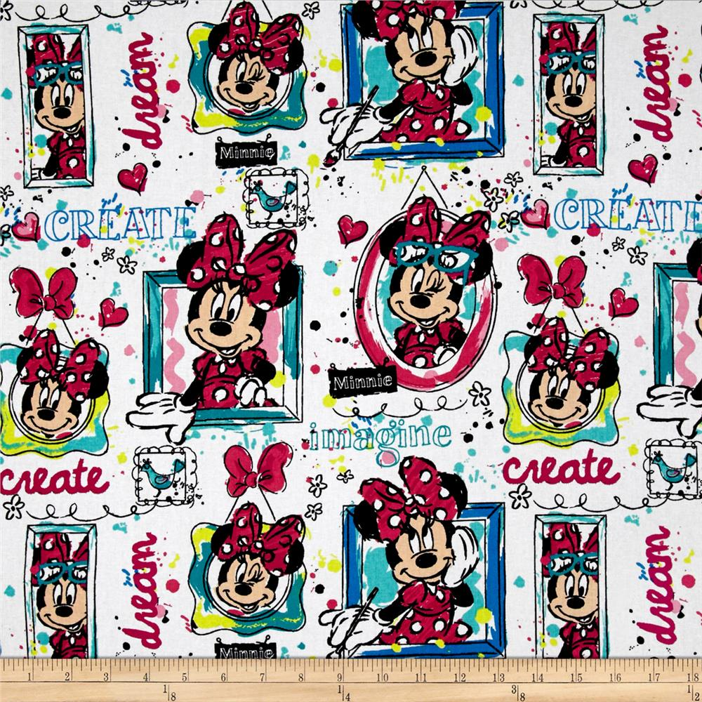 Disney Minnie Bowtique Windows White