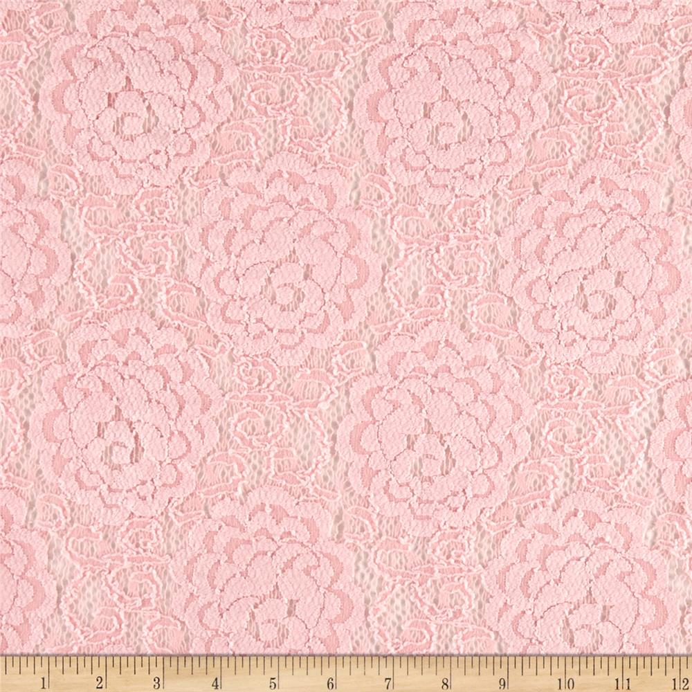 Novelty Lace Baby Pink