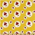 Woodland Toadstool Dots Yellow