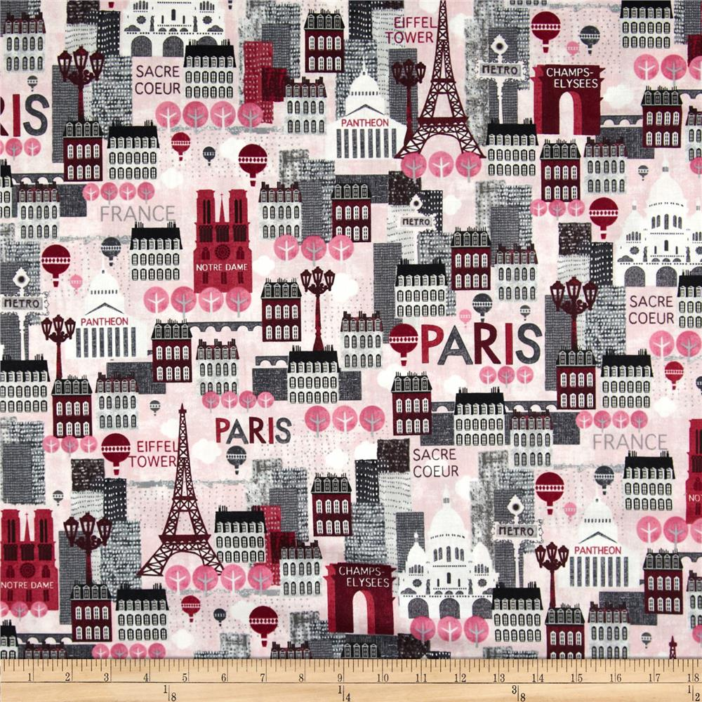 Hello Paris Scenic Pink