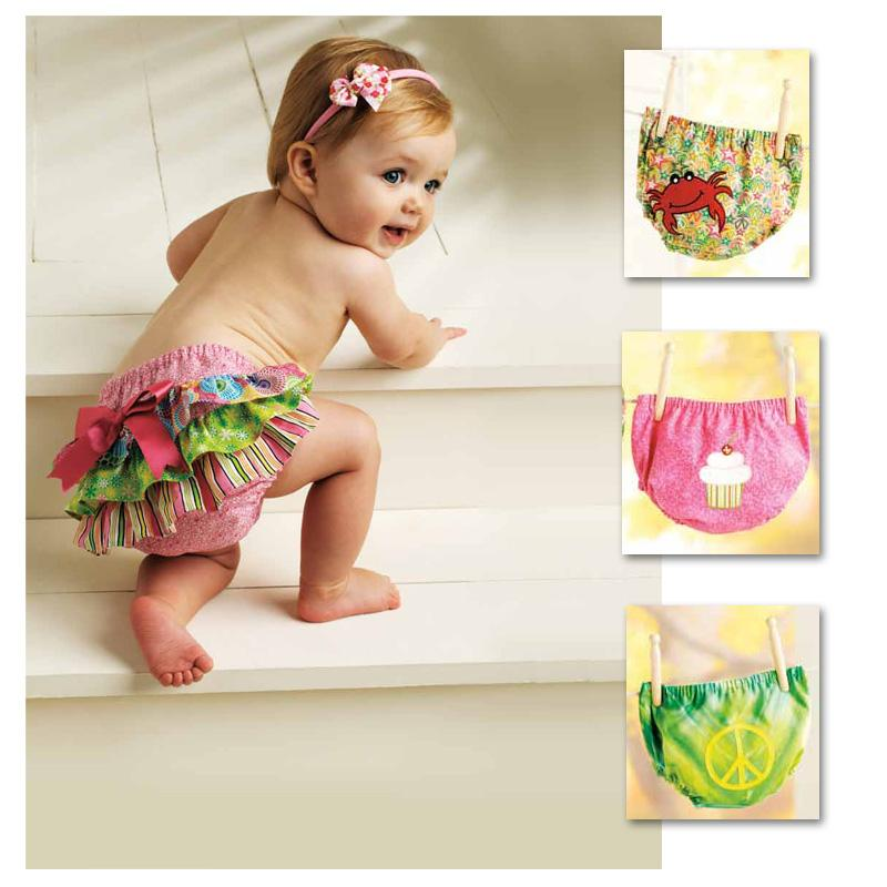Ellie Mae Too Cute to Boot Diaper Cover Pattern